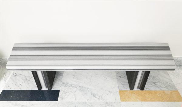 Meuble en marbre Banc Striato