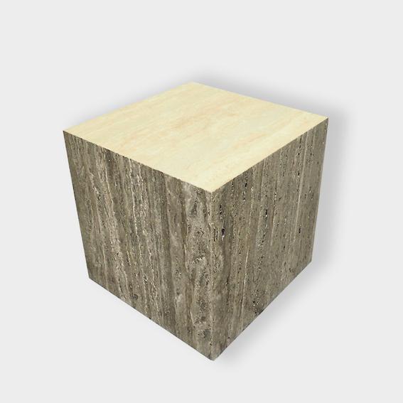 Chevet en pierre naturelle travertin