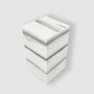 Meuble en marbre Zebrino